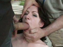 русское порно два в рот