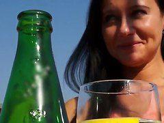порно видео брюнетки грудь раком